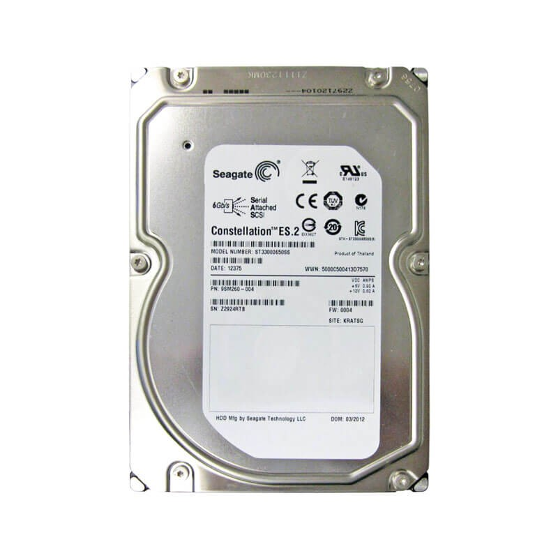 Hard Disk Seagate ST33000650SS 3TB SAS 6Gbps 3.5 inci, 7.2K RPM, 64 MB Cache