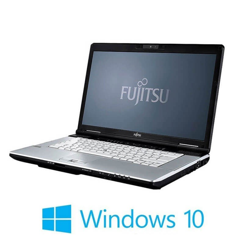 Laptop Refurbished Fujitsu LIFEBOOK S751, Core i3-2350M, Webcam, Win 10 Home
