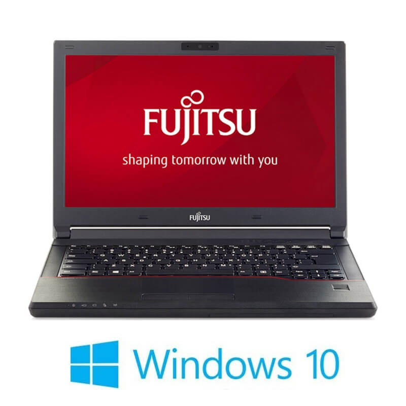 Laptopuri Refurbished Fujitsu LIFEBOOK E546, i3-6006U, SSD, Webcam, Win 10 Home