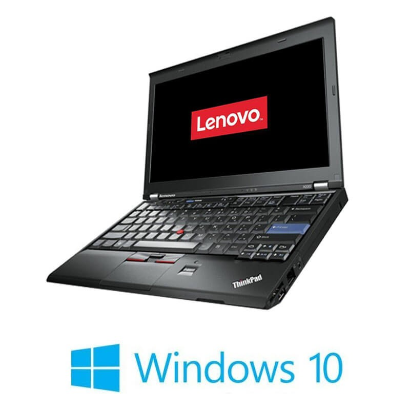 Laptopuri Refurbished Lenovo ThinkPad X220, Intel i5-2450M, Webcam, Win 10 Home
