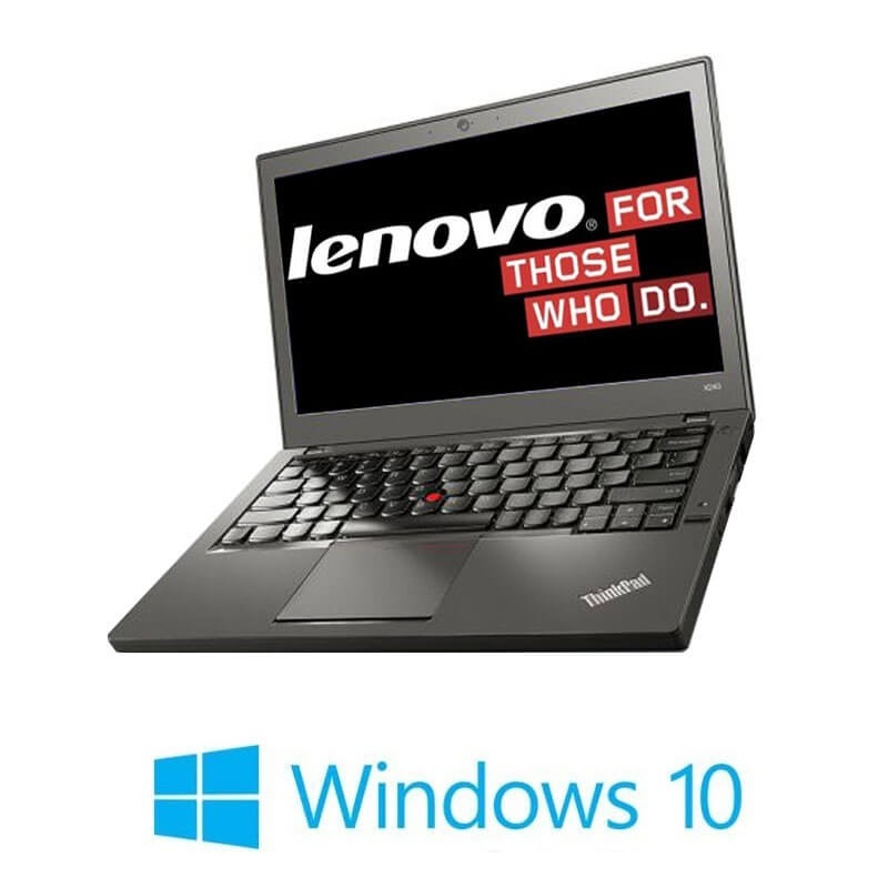 Laptopuri Refurbished Lenovo ThinkPad X260, i5-6200U, DDR4, Webcam, Win 10 Home