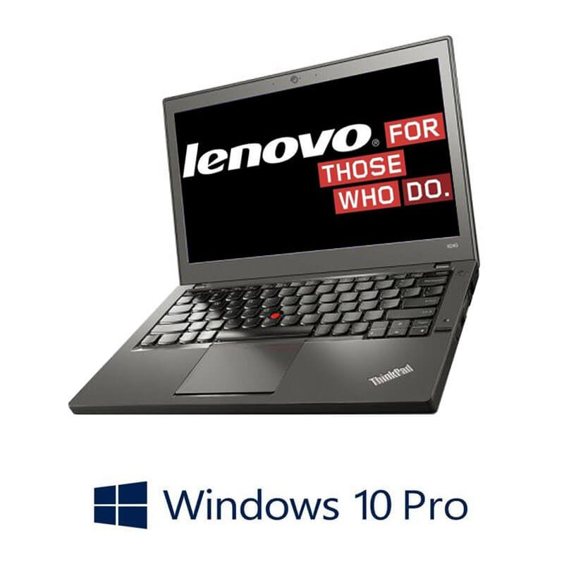 Laptopuri Refurbished Lenovo ThinkPad X260, i5-6200U, DDR4, Webcam, Win 10 Pro
