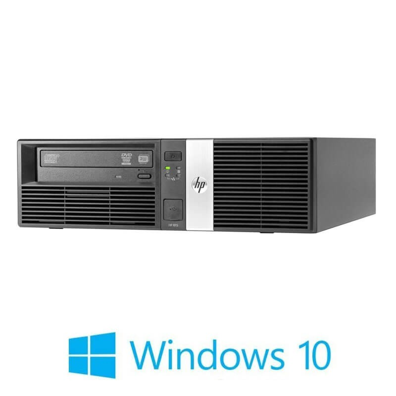 PCHP RP5 5810 Retail System, Quad Core i5-4570S, 120GB SSD, Win 10 Home