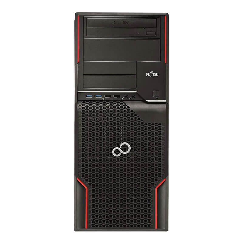 Workstation SH Fujitsu CELSIUS W520, Xeon Quad Core E3-1230 v2, GeForce 605 DP